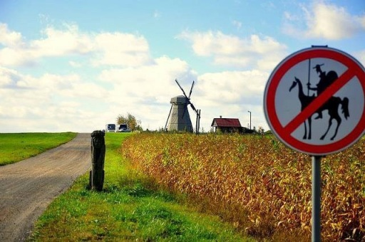 Tilting at a windmill