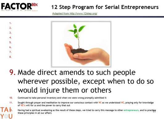 12 steps 9
