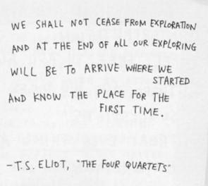 ts eliot four quartets